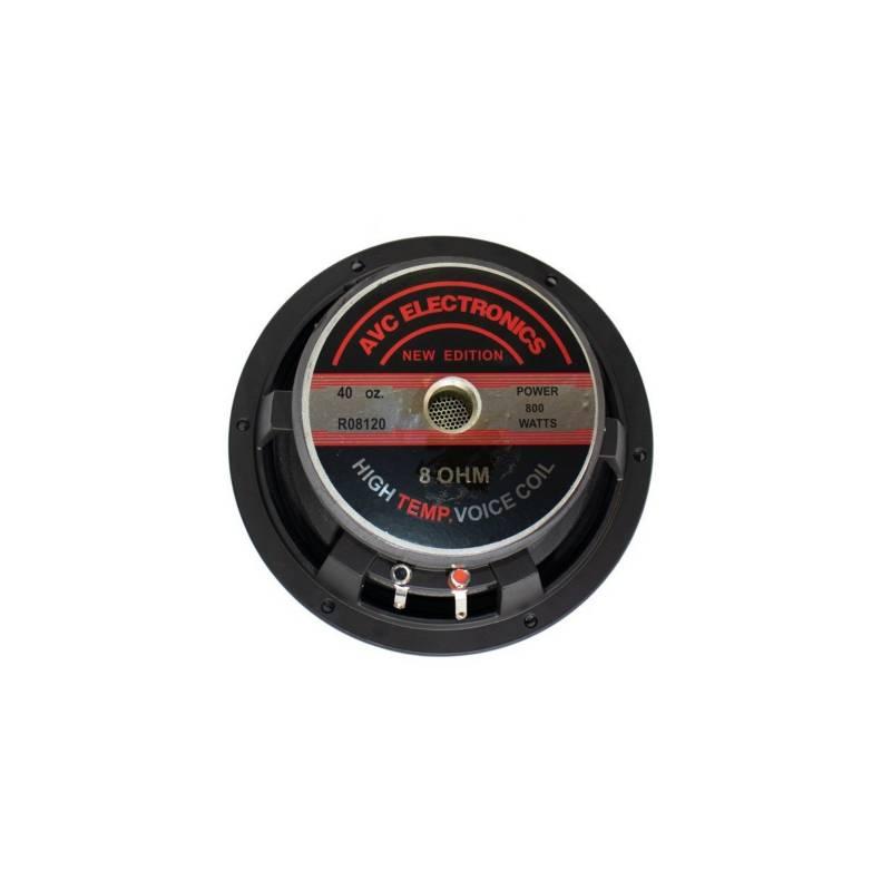 "AVC Electronics - Parlante de 8"" 8ohm 800 wts woffer r08120 avc"