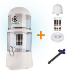 Combo: purificador de agua + 3 repuestos encendedor