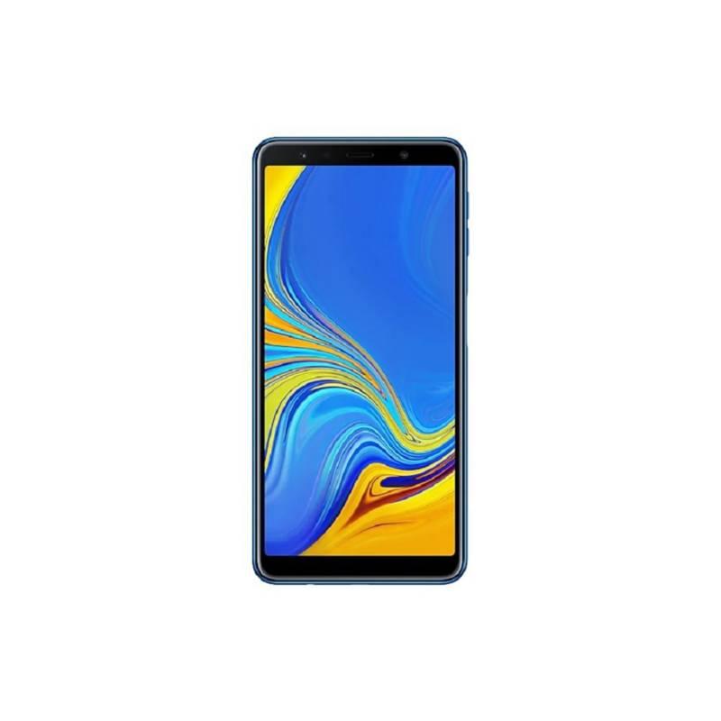 Samsung - Celular Samsung a7 64 gb Azul