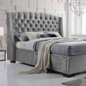 EKONOMODO - Colchon con base cama king + espaldar italia gris perla