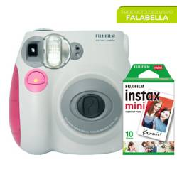 Cámara Instantánea Fujifilm Mini 7S + Papel x 10
