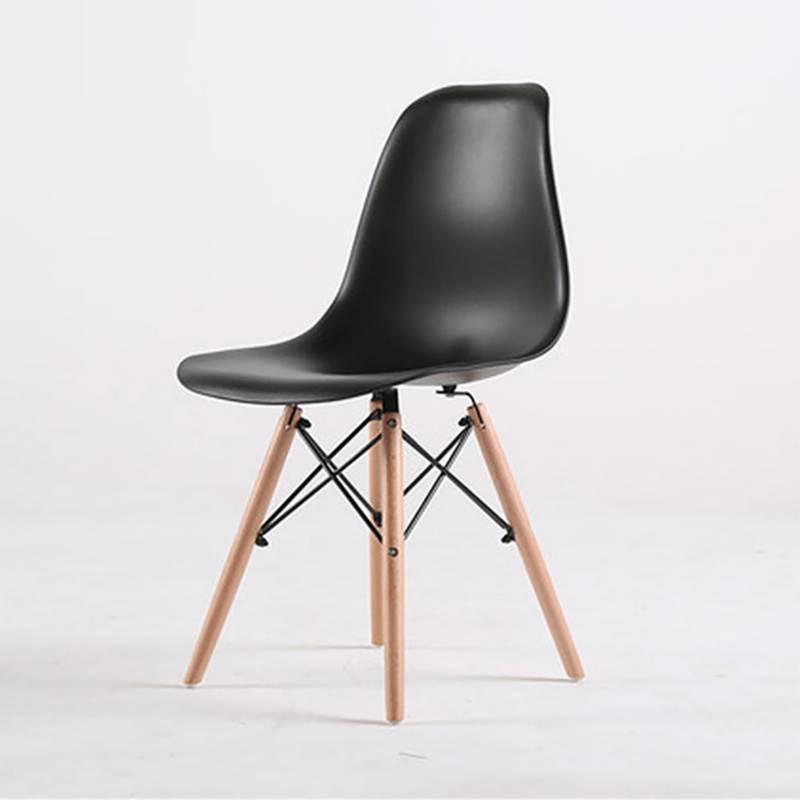 EKONOMODO - Silla Eames Adult 42x50x82 Negro