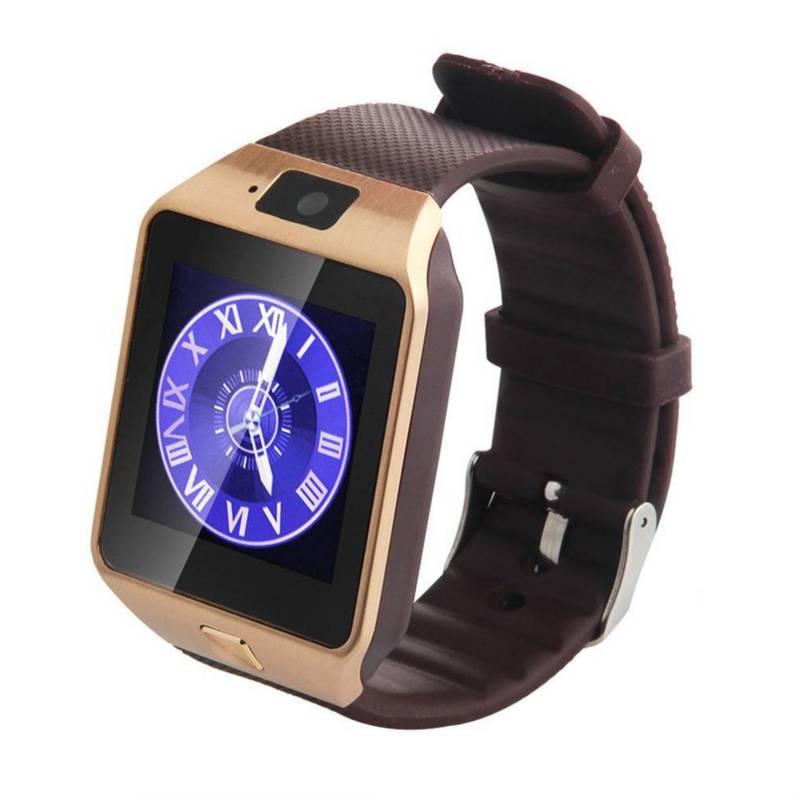 - Reloj smartwatch sim, cámara, bluetooth, dorado