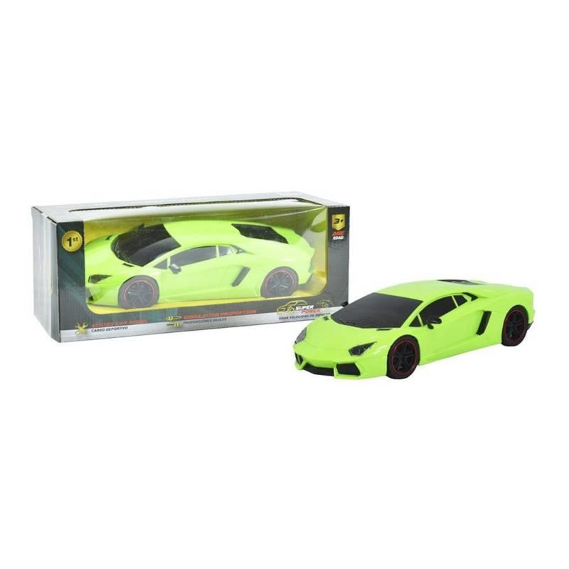 Collection Car - Carro Deportivo Lamborghini de Impulso 3+