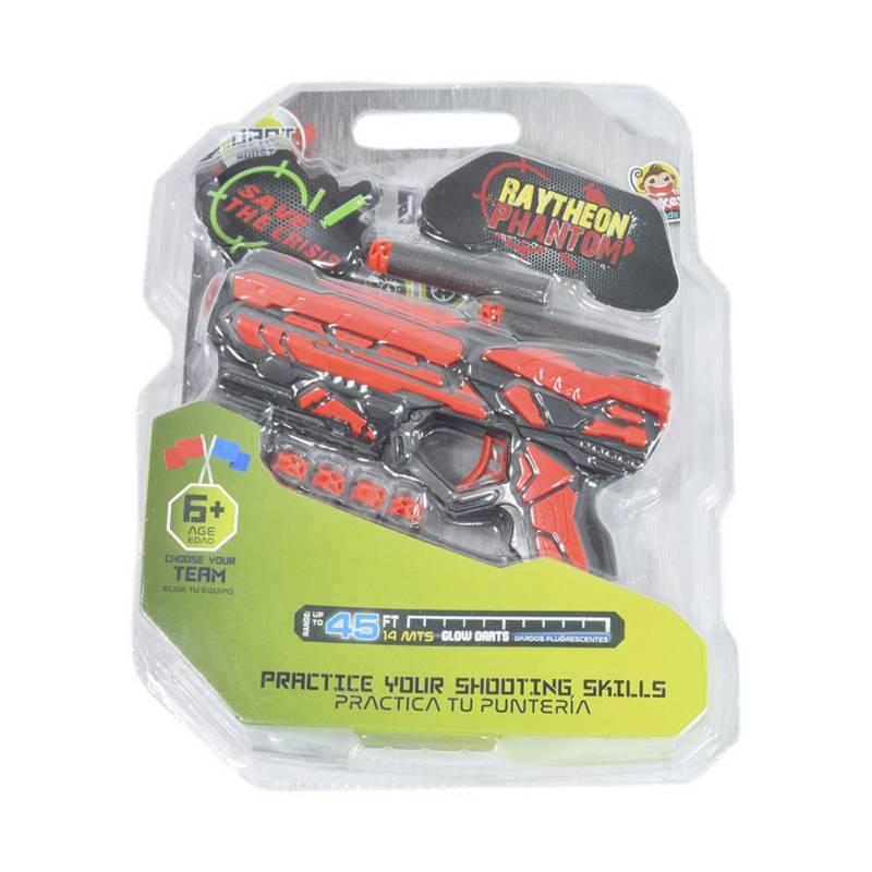 Dart Booster - lanzador Dart Booster de dardos de 19 cm Incluye 6