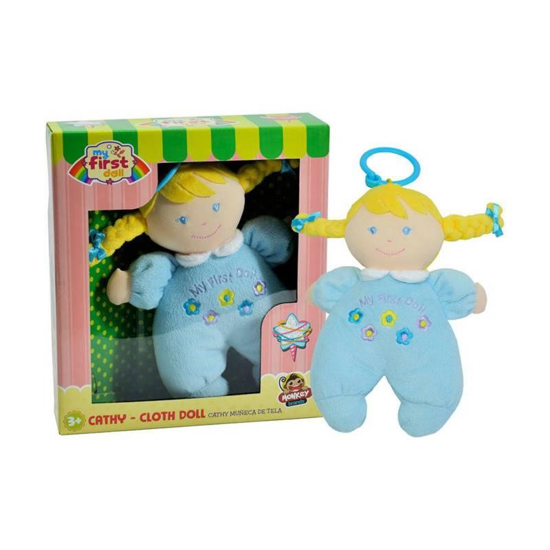 My First Doll - Cathy Muñeca de Tela 3+