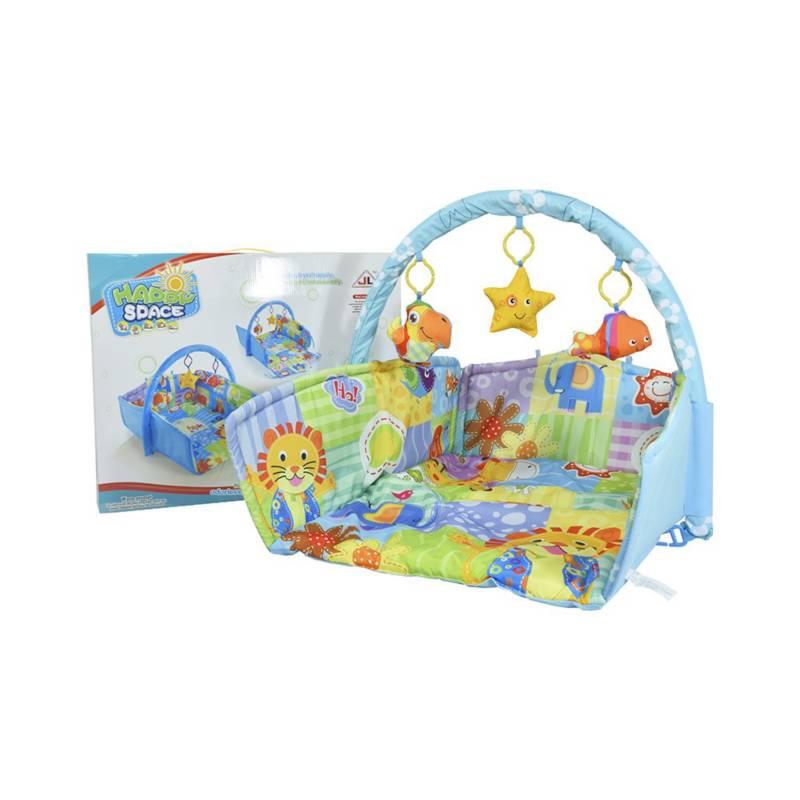 OTROS LICENCIADOS - Tapete rectangular con gimnasio para niño 6M+
