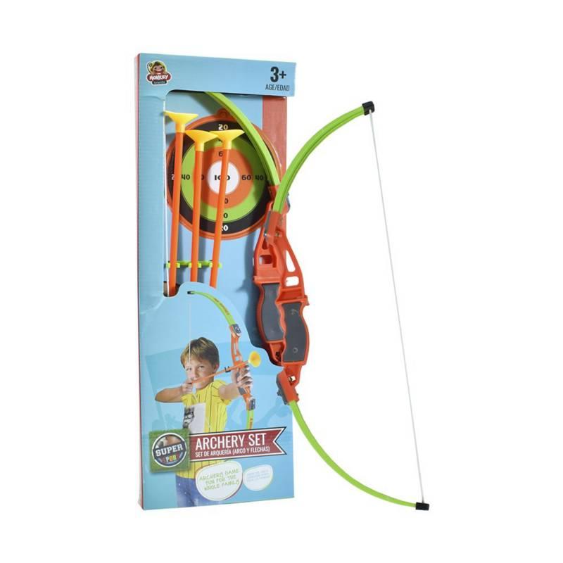 Super Sport - Set de arco con Flechas 3+