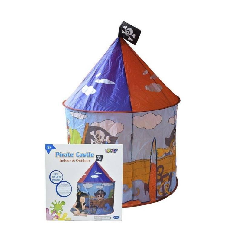Play House - Carpa para Niños Diseño Pirata 3+