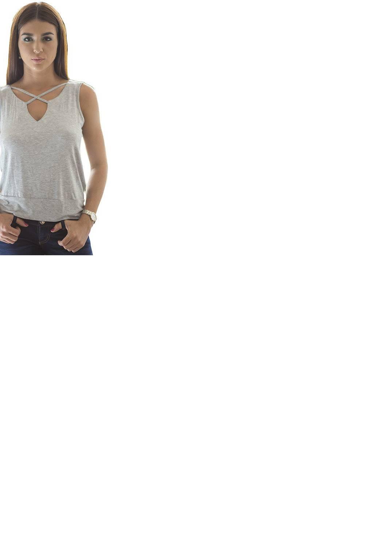 Bocared - Blusa Adel para dama con escote en delantero