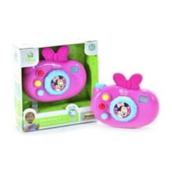 Cámara de juguete con luces y sonidos Minnie Mouse