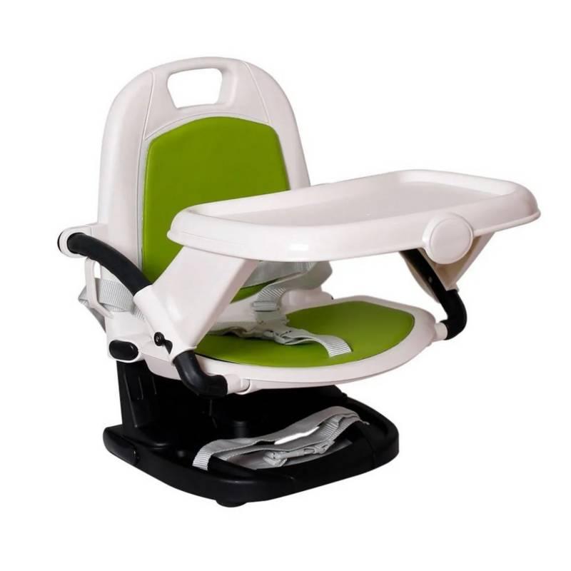 Konig Kids - Silla de comer Booster verde para bebés Konig kids