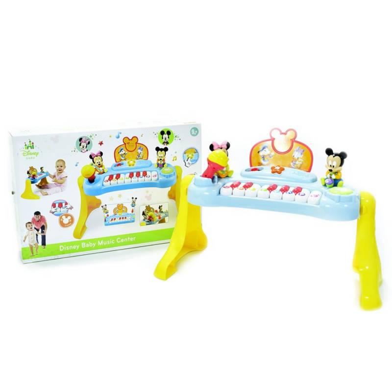 Disney - Piano para bebés de 9m diseño Mickey y sus amigos