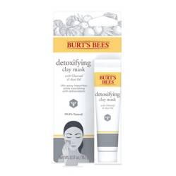 Burts Bees - Mascarilla Facial desintoxicante de Arcilla de un Solo Uso