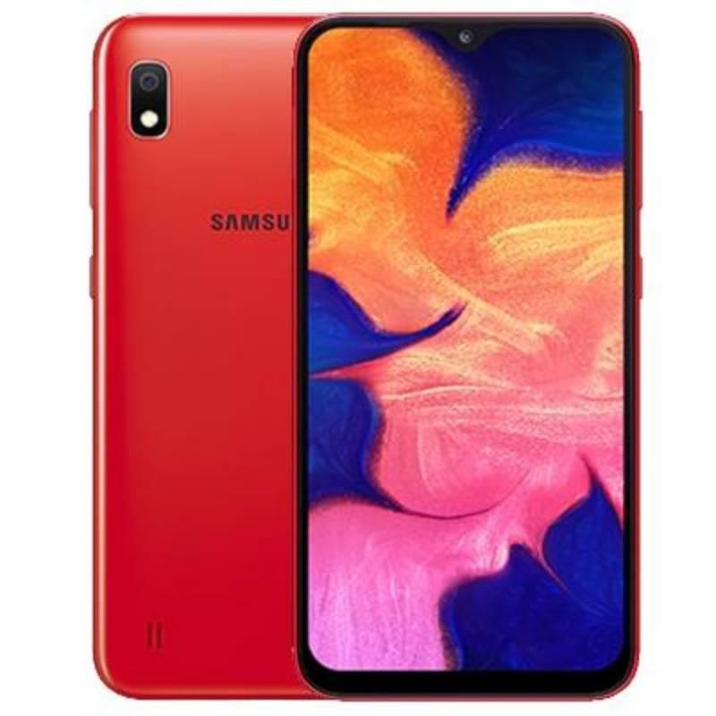Samsung - Celular Samsung  a10 rojo