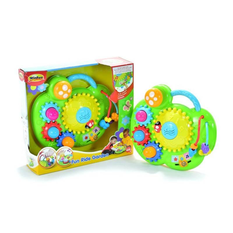WinFun - Jardín de juguete múltiples actividades luces y so