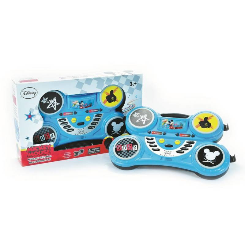 Disney - Bateria mickey mouse ritmos modernos para niños 3