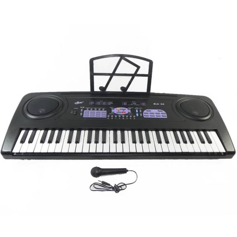 Danki - Teclado organeta eléctrico micrófono mls- 318