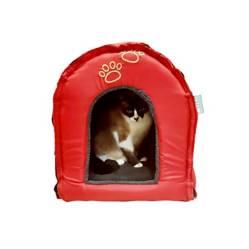 SofistiGato - Casa Iglú Roja Para Gato - Sofistigato