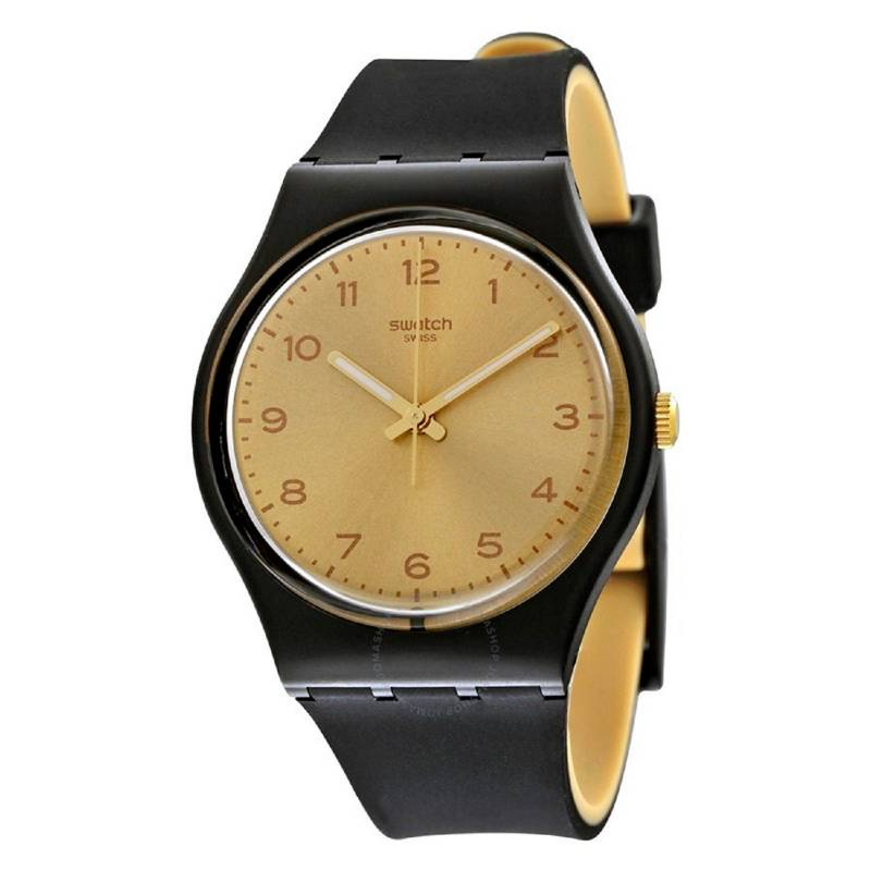 Swatch - Reloj Unisex Swatch Golden Friend TOO GB288