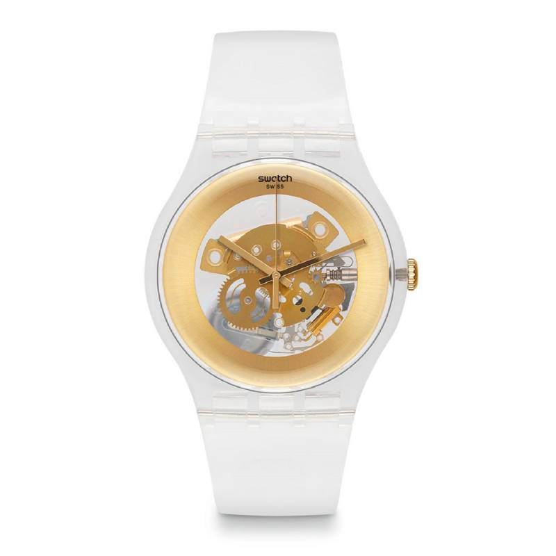 Swatch - Reloj Mujer Swatch Gilt Ghost SUOK106