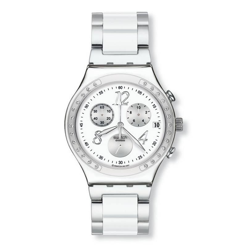 Swatch - Reloj Mujer Swatch DreamWhite YCS511GC