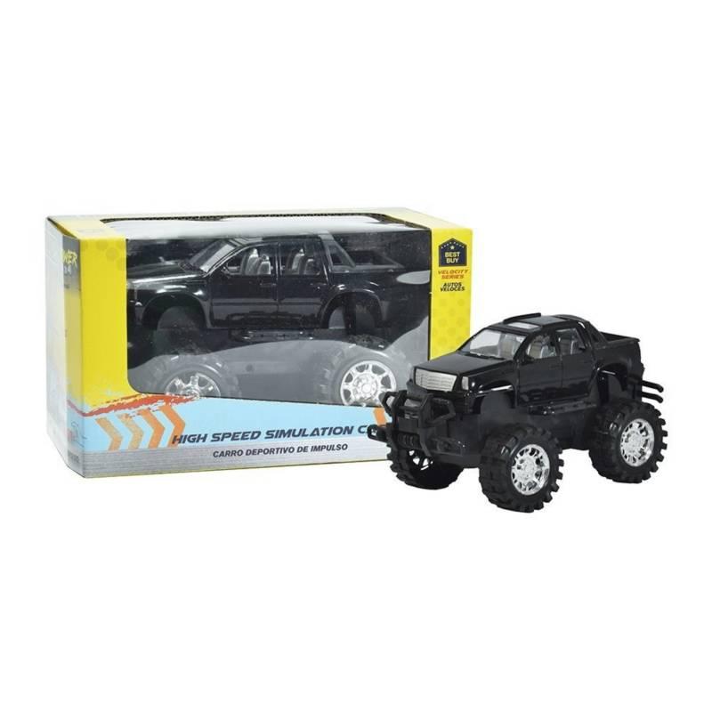 Power 4X4 - Carro 4x4 Cross Country de fricción para niño 3+