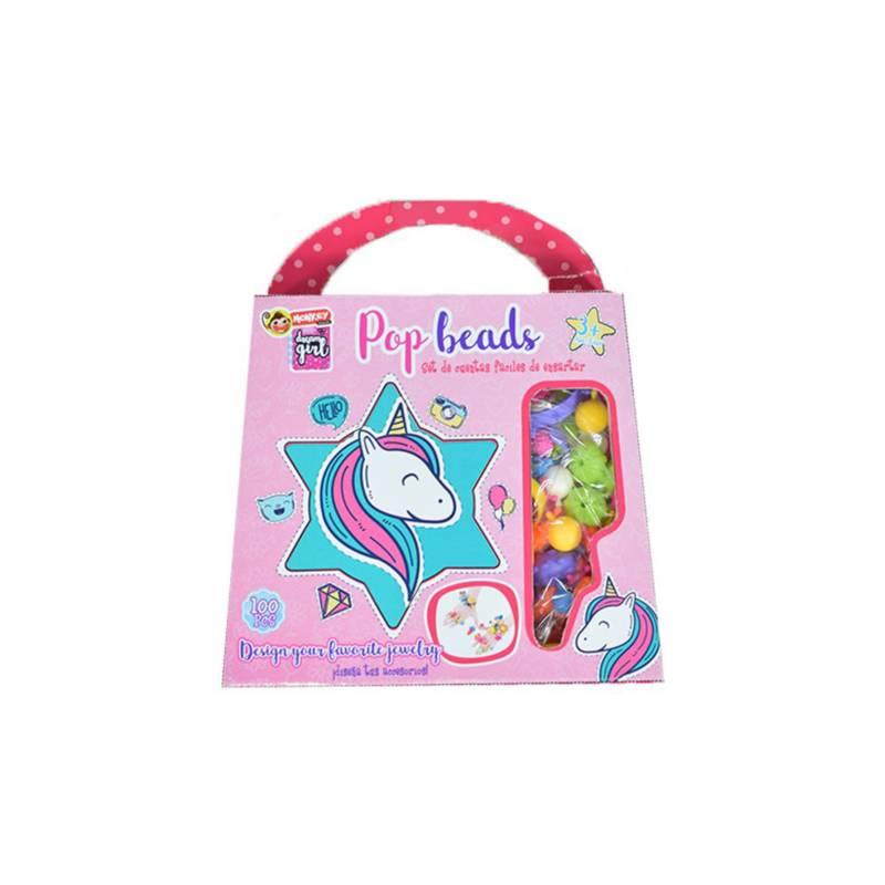 OTROS LICENCIADOS - Pop beads cuencas para manillas y collares en cart