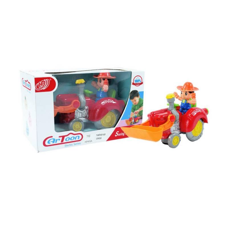 OTROS LICENCIADOS - Carro tractor de la granja preschool