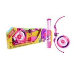 Super Sport - Set arco y flechas para niña rosado 3+