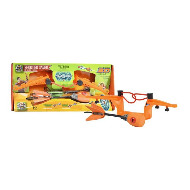 Super Sport - Set de arco color naranja mediano diseño novedoso