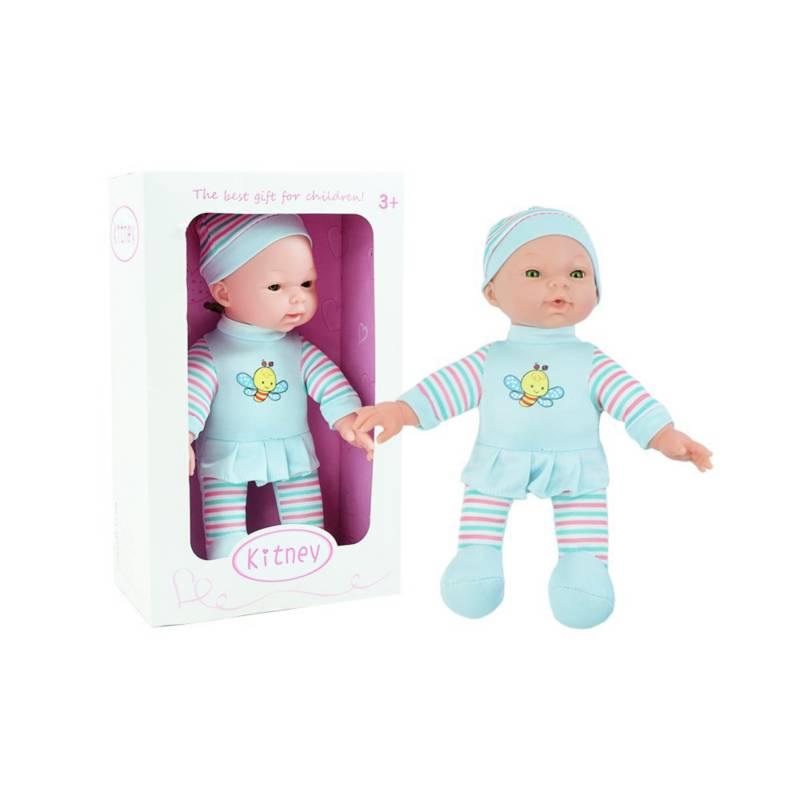 OTROS LICENCIADOS - Muñeco bebé de tela suave 25 cms12m+