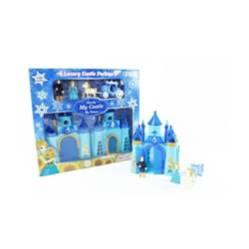 OTROS LICENCIADOS - Castillo para niña azul luces y sonidos 3+