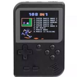 Consola  juegos portátil sd mini game boy negro