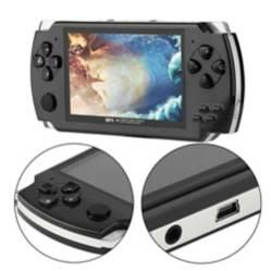Consola Juegos Personal Huskee Negro PSP