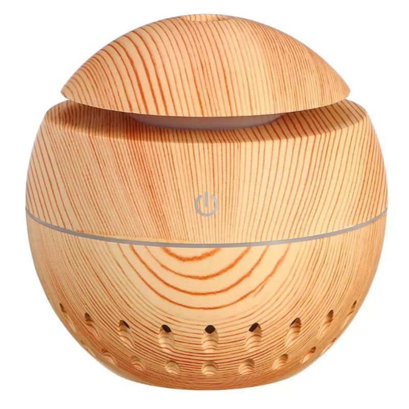 Danki - Difusor grano madera led claro aroma humificador