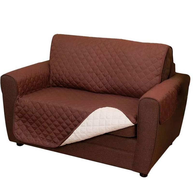 Danki - Forro Cobertor Sofa Sillas Reversible 2 Puestos