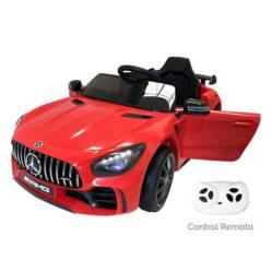 Carro Eléctrico Rojo