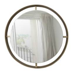 Espejo Roma 75 cm Dorado