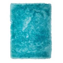 Alfombra tapete azul turquesa 1.20 x  1.70mts
