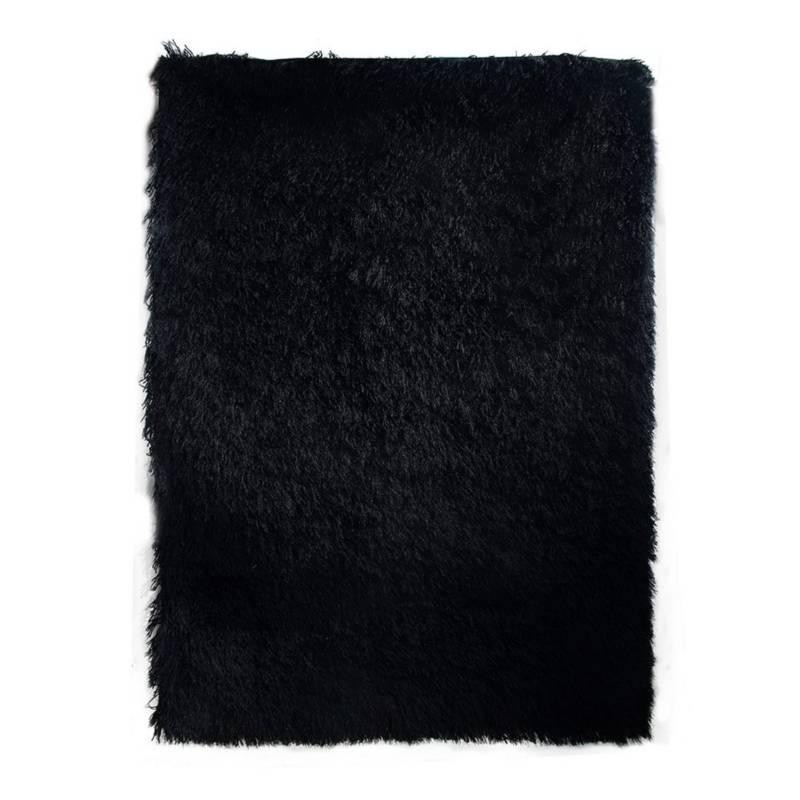 MITAPETE.COM - Alfombra tapete negro 1.20 x 1.70 más
