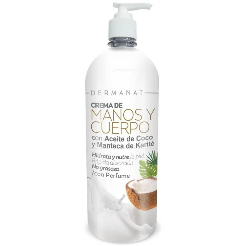 Dermanat - Crema  Con Aceite De Coco
