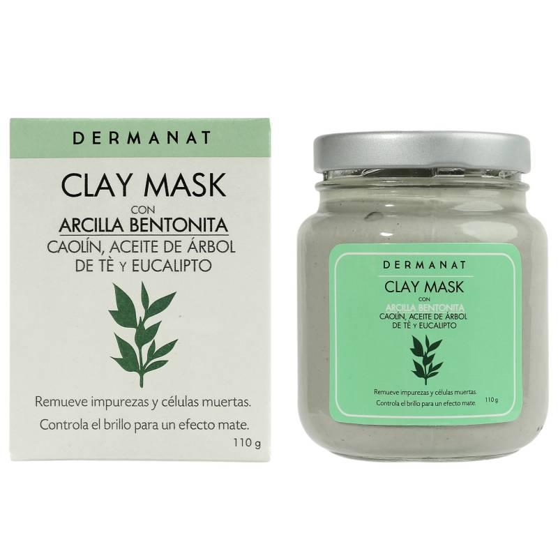 Dermanat - Mascarilla Facial Clay Mask