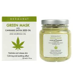 Dermanat - Green Mask Moringa+Cannabis