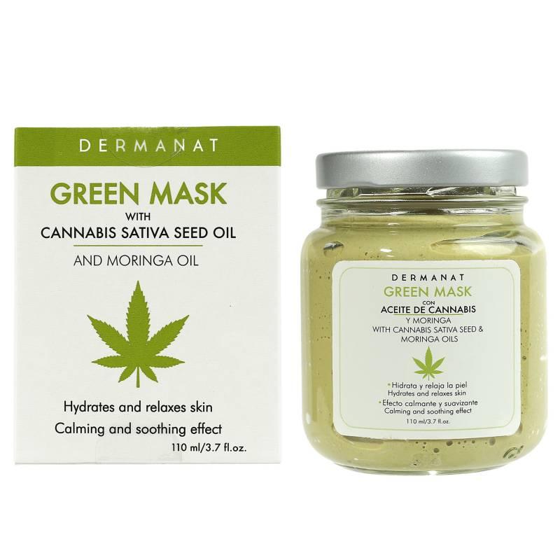 Dermanat - Green Mask Moringa+Cannabis