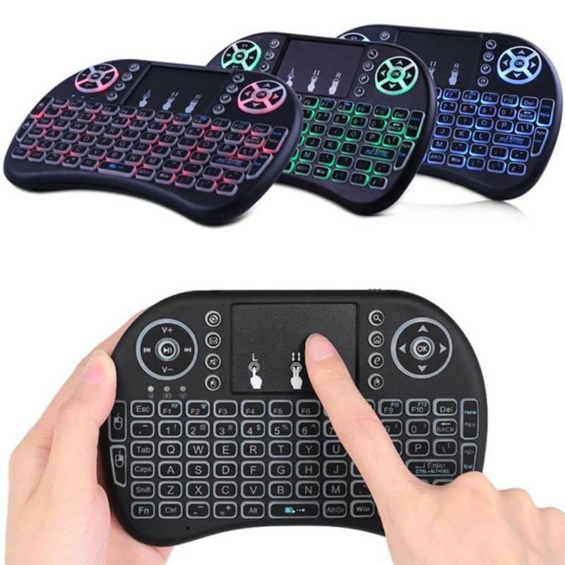 DANKI - Mini teclado inalámbrico gamer android smart tv