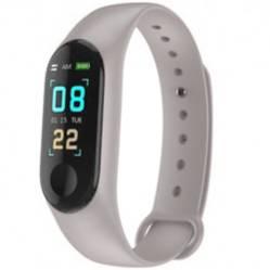 Danki - Reloj pulsera inteligente control  salud m3 gris