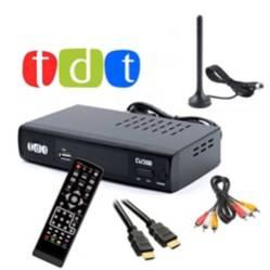 Decodificador TDT  HD USB control hdmi rca digital