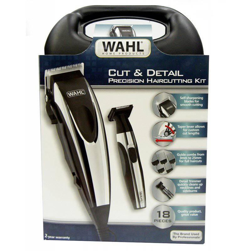 Wahl - Maquina Para Corte Cut And Detail18piezas9243-6208