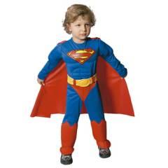 Warner - Disfraz Superman Bebé Warner